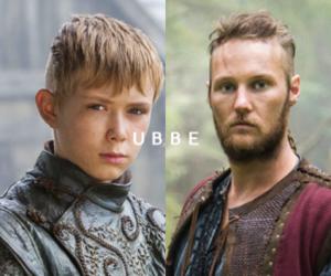 vikings, ubbe, and vikings serie image