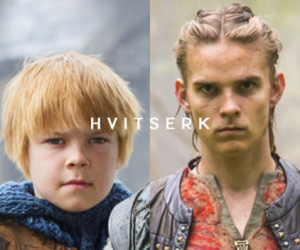 vikings, vikings serie, and hvitserk image