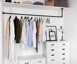 closet, clothes, and home image