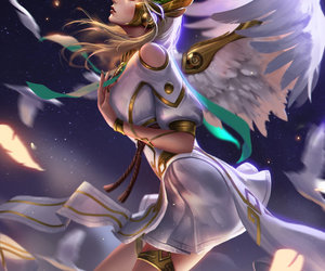 deviantart, video game, and mercy image