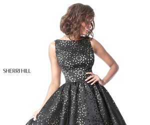 red carpet pageant dress, sherri hill s51459, and short simply dress image