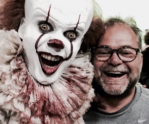 pennywise, it, and Stephen King image