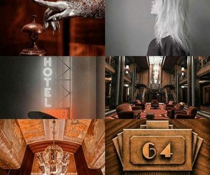 hotel, Lady gaga, and evan peters image