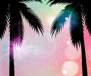 palm trees, palms, and wallpaper image