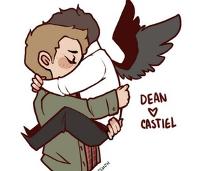 supernatural, dean, and destiel image