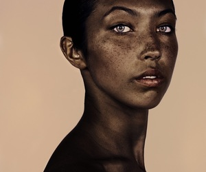 freckles, beautiful, and beauty image
