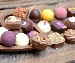 chocolates, nuts, and food image