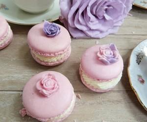 flowers, food, and purple image