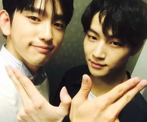 JB, got7, and jinyoung image
