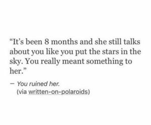 break up, heartbreak, and ruined image