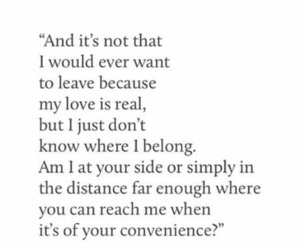 confused, distance, and hurt image