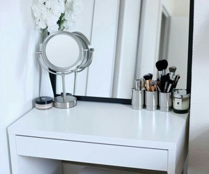 mirror, home, and white image