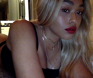 dress, jordyn woods, and pretty+outfit+dress image