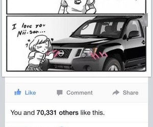 anime, cars, and humor image