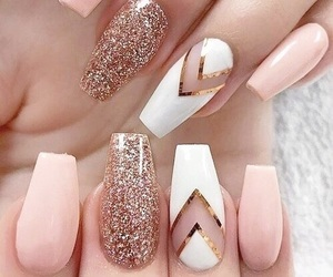 glitter, luxury, and nails image