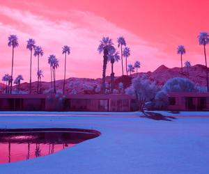 infrared, california, and landscape image