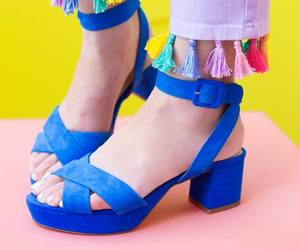 blue, jeans, and tassel image