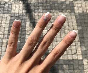 holiday, luxury, and french manicure image