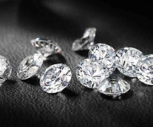diamond, black, and luxury image