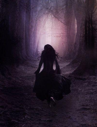 black and white, dark, and Darkness image