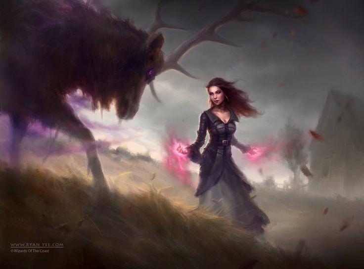 fantasy, landscape, and magic image