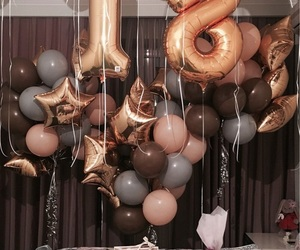 balloons, birthday, and 18 image