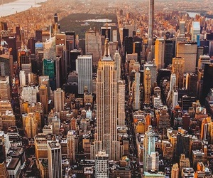 america, buildings, and new york image