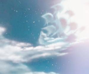 air, peter pan, and sky image
