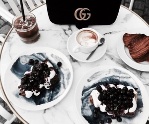 food, gucci, and blue image
