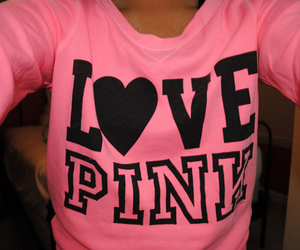 pink, love pink, and Victoria's Secret image