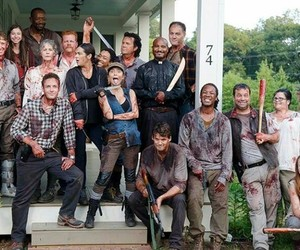 the walking dead, twd, and Abraham image