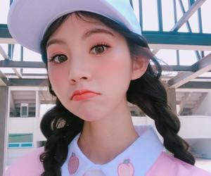 korean, model, and chaeeun image