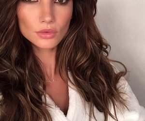 Lily Aldridge, model, and makeup image