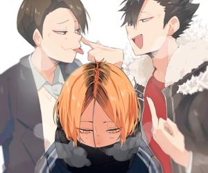 anime and haikyuu image