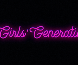 black, girls generation, and headers image