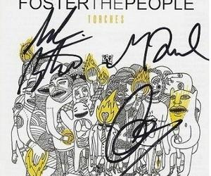album, artists, and autograph image