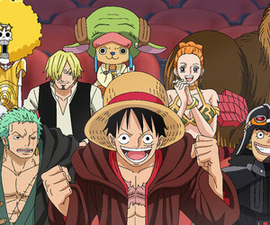 one piece, anime, and star wars image