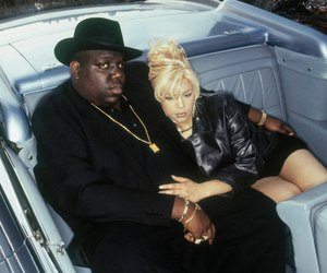 faith evans and biggie smalls image