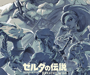 breath of the wild and the legend of zelda image