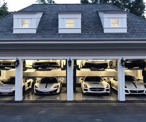 cars and garage image