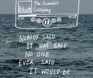 coldplay, music, and the scientist image