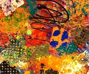abstract art, Abstract Painting, and expressive painting image