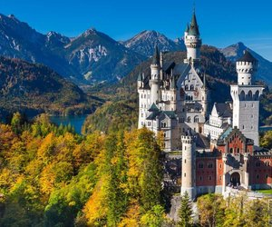 bavaria, castle, and color image