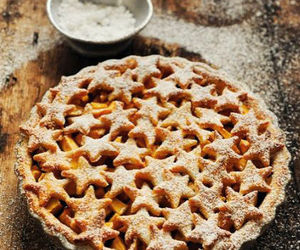 food, pie, and stars image