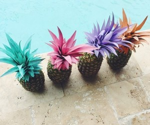 summer, weheartit, and pineapples image