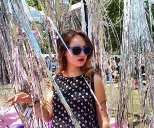 girl, H&M, and festival image