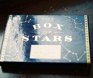 stars, box, and blue image