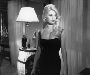 brigitte bardot, black and white, and blonde image