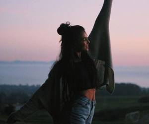 fashion+style+girl, girl+tumblr+alternative, and sky+sunset+summer image