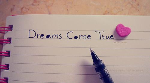 Dream, true, and quote image